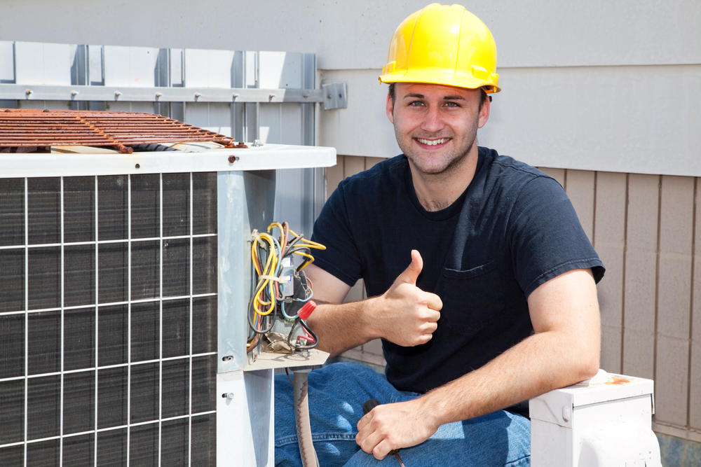 HVAC thumbsup